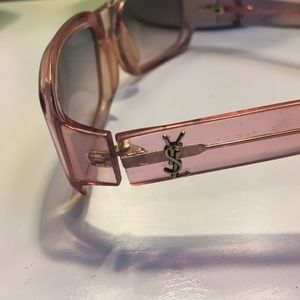 Pink Sheer Yves Saint Laurent ☀️ Sunglasses